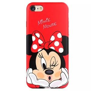 Minnie Mouse Disney iPhone 📱 X Case 🔥